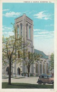 EVANSTON , Illinois , 1910s ; First M.E. Church