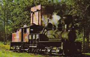 Graham County Railroad Locomotive #1923 At Bear Creek Junction North Carolina