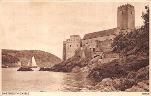 Dartmouth Castle River Boats Chateau Schloss