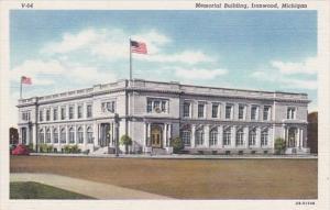 Michigan Ironwood Memorial Building Curteich