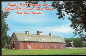 Nebraska NORTH PLATTE Buffalo Bill's Scout's Rest Ranch Historical Park - Chrome