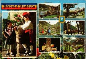 CPM Valls d'Andorra Diferents aspectes FOLKLORE (732456)
