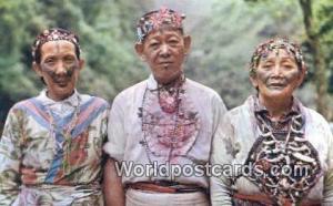 Taiwan Wulai Aboriginals  Wulai Aboriginals