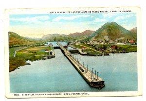 Panama - Canal Zone. Pedro Miguel Locks