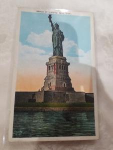 Antique Postcard, Statue of Liberty, New York
