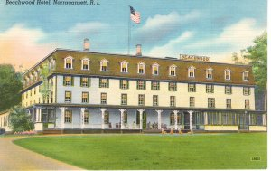 US    PC2569  BEACHWOOD HOTEL, NARRAGANSETT, RI