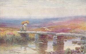 Post Bridge, Dartmoor (Devon), England, UK, 1900-1910s