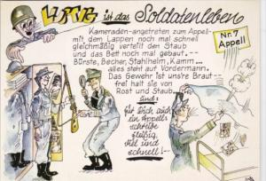 Military Humour Lustig Ist Das Soldatenleben Funny Is A Soldiers Life Nr 7 Ap...