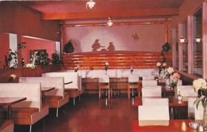 Lazy K Dining Room , Turtle Mt Hotel , FRANK , Alberta , Canada , 50-60s