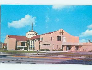 Unused Pre-1980 CHURCH SCENE St. Petersburg Florida FL L3144