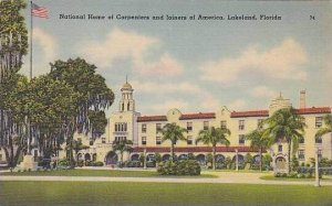 Florida Lakeland The National Home Of Carpenters And Joiners Of American