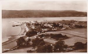 RP, ULLAPOOL Scotland, UK, 1920-1940s; Bird's Eye View