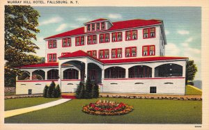 Murray Hill Hotel, Fallsburg, New York, Early Postcard, Unused