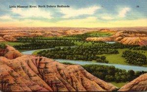 North Dakota Badlands Little Missouri River