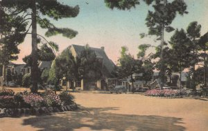 Unique Carmel Shops, Carmel-By-The-Sea, CA, Early Hand Colored Postcard, Unused