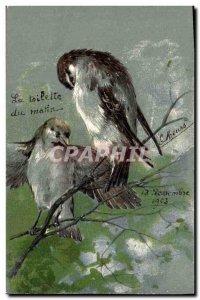 Old Postcard Fancy Birds