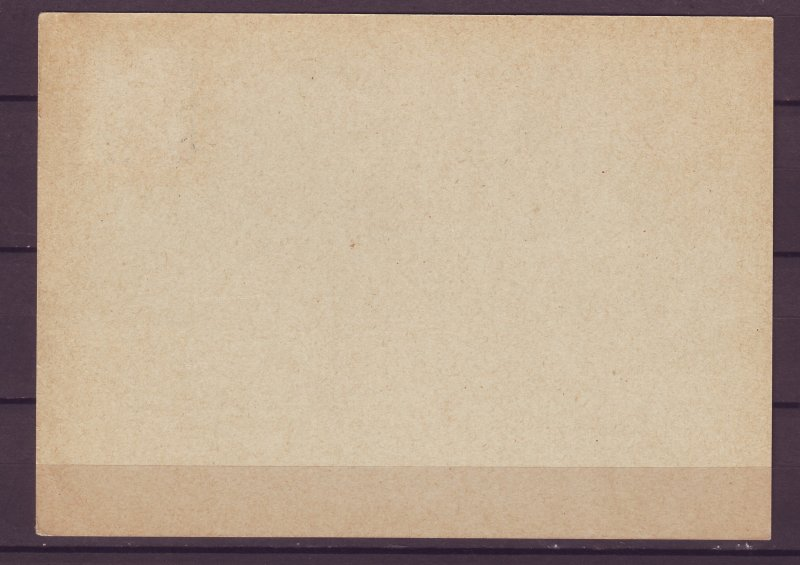 P1673 1939 WWII nazi germany postcard wien cancel hindenburg stamp