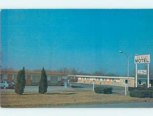 Unused Pre-1980 MOTEL SCENE Hagerstown Maryland MD G6884