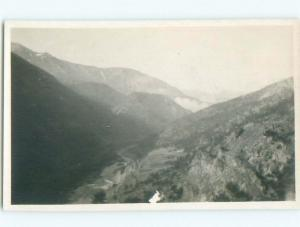 Pre-1918 rppc ROCKY MOUNTAINS Banff & Jasper & Canmore & Lake Louise AB W1085
