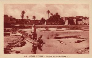 Scenes et Types, Paysage du Sud-Alerien, Algeria, 10-20s