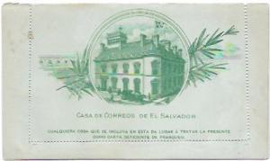 El Salvador 1890. Casa De Correos
