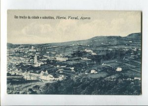 3144750 PORTUGAL Azores ACORES Horta Fayal trecho suburbios OLD