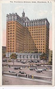 Rhode Island Providence The Providence Biltmore Hotel 1922