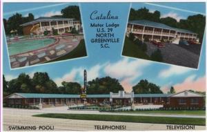 North Greenville, South Carolina, Early Views of The Catalina Motor Lodge