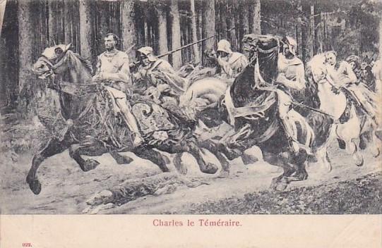 Charles Le Temeraire Schweiz Switzerland