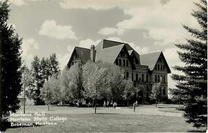 RPPC of Montana Hall Montana State College Bozeman MT EKC