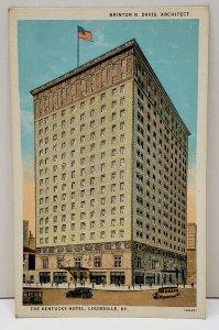 Louisville Kentucky The Kentucky Hotel Brinton Davis Architect Postcard B5
