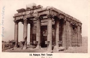 Palmyer, Syria Postcard, Syrie Turquie, Postale, Universelle, Carte Petit Tem...