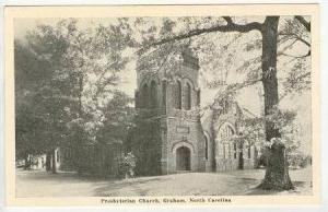 Presbyterian Church, Graham, North Carolina, 1920-1940s