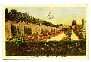 Canada - Ontario, Niagara Falls. Oakes Garden Theatre