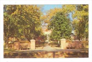 Anderson College entrance Anderson, South Carolina, 40-60s
