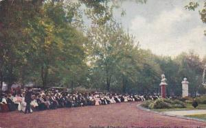 Missouri Saint Louis Sunday Afternoon Tower Grove Park 1911