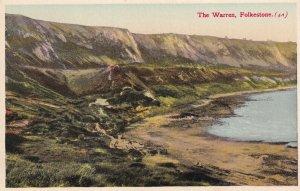 FOLKSTONE, Kent, England, PU-1936; The Warren
