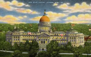 MS - Jackson.New State Capitol
