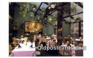 Fortune Garden Pavilion Restaurant, New York City, NYC Postcard Post Card USA...