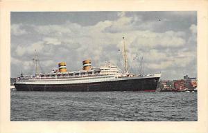 S.S.  Nieuw Amsterdam, Holland-America Line