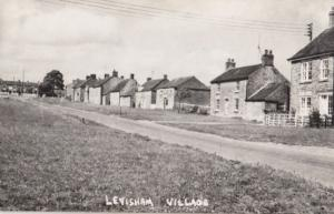 Levisham Village Plain Back Antique Real Photo Postcard