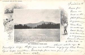 Chocorua New Hampshire Mountain Lake Waterfront Antique Postcard K85414