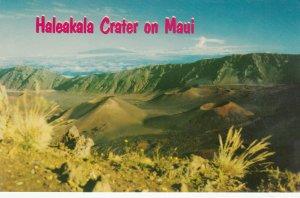 MAUI, Hawaii, 50-60s; Haleakala Crater