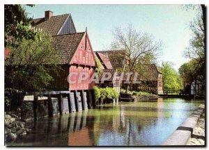 Postcard Modern AArhus Den Gamle By