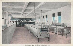 SAVANNAH, Georgia, 1910-20s; Kitchen of The De Soto