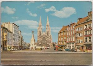 OOSTENDE, OSTENDE, Place St. Pierre et Paul, used Postcard