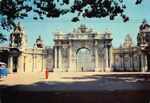 Turkey Instanbul ve Saheserleri Portail de Dolmabahce Palais Portal Postcard
