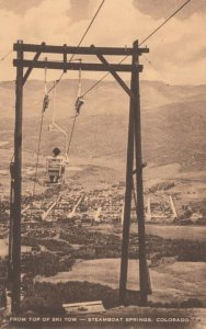 STEAMBOAT SPRINGS , Colorado , 1930s ; Ski Tow