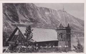 RP, The Old Log Church Of Bennett, British Columbia, Canada, 1920-1940s