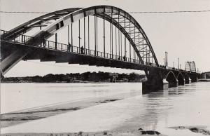 Iran Real Photo Postcard Karoun bridge Ahvaz